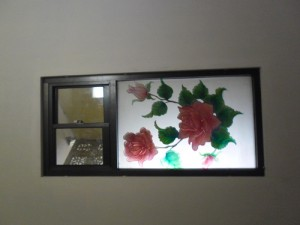 kaca grafir tulip